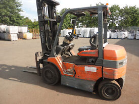 TOYOTA 3T electric forklift without battery