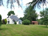 Large Village Property in N W Loire, France. 5000m2 of mature garden and paddock + 1 bed annexe