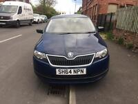 Skoda rapid 1.6 tdi 2015 5doors blue