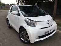 Toyota IQ 1.0 VVT-i 3dr *CHEAP INSURANCE/ £0 ROAD TAX FREE /PEARL WHITE/KEYLESSENTRY /KEYLESS LOCK P