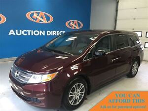 2013 Honda Odyssey EX-L TV/DVD! LEATHER! 8 PASSENGER!