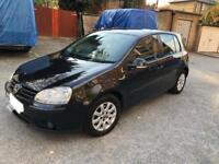 VOLKSWAGEN GOLF 1.6 fsi mark 5 mk5 automatic petrol black auto gearbox top spec full loaded