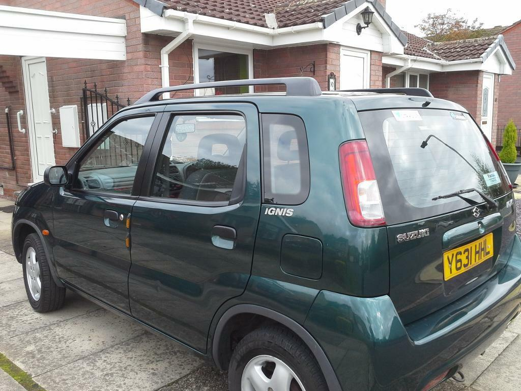 suzuki ignis. 2 owners from new.serviced regularly.5door hatch.mot May 2017.excellent condition.