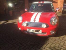 2010 (10) Mini Cooper 3 door 1.6 petrol, FMiniSH, just 41k miles, lovely car