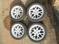 MGZR Alloy Wheels