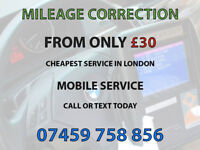 MILEAGE CORRECTION FROM ONLY £30 CHEAPEST ODOMETER FIX CLOCKS SPEEDO AJUSTMENT