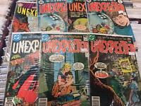 Unexpected and Ghosts DC comics horror 1970's