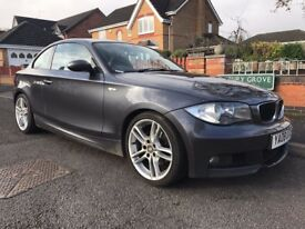 2008 08 Bmw e82 1 Series 120d M Sport Grey 2.0L Coupe Manual Diesel FSH 1 Owner HPI Clear Bargain