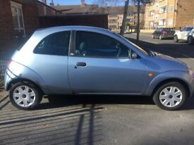 Ford KA 1.3 for sale, Light blue (Metallic) Reliable little runner ideal runabout with Sony Radio
