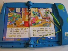 LEAP FROG LEAPPAD LEARNING SYSTEM - AGE 4 UP - EXCELLENT CONDITION