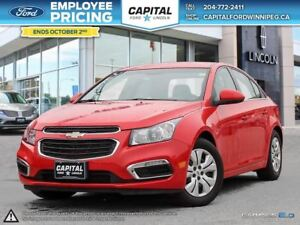 2016 Chevrolet Cruze LT **Reverse Camera-Bluetooth**