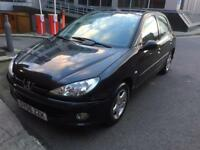 PEUGEOT 206 VERVE /1.4/GREAT CONDITION/CHEAP TO RUN/£765