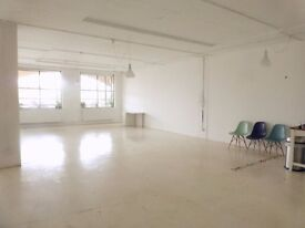 Studio/Office, 206A, Light, Bright, Netil House, Shoredtich, Hackney, East London, E8