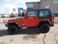 2006 JEEP TJ TRAIL EDITION 4X4 SWEET RIDE-READY FOR THE SUMMER!!