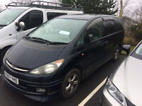 Toyota Estima Areas 2.4, MPV/People Carrier/Van with New MOT