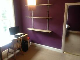 Two rooms for the price of one! Great double bedroom and large office space. All bills included.