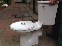 White ceramics toilet great condition