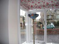 Antique Tiffany Floor Lamp with exquisite shade