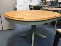 Lovely farm extendable pine table