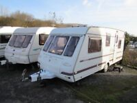 Compass Encore 500/5 Double Dinette 5 Berth Touring Caravan 1999
