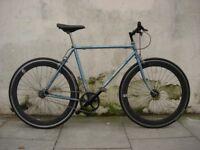 Fixie/ Single Speed Bike by Motobecane, Steel Frame, Rat Packer!, JUST SERVICED / CHEAP PRICE!!!!!!!