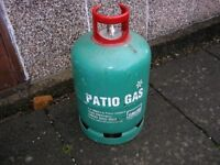 13KG CALOR PATIO empty gas bottle - calor deposit £45