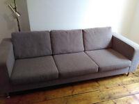 Danish designer sofa 3 seater