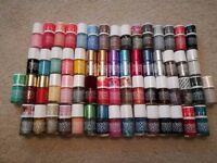 62 Models Own nail polishes