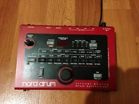 Clavia Nord Drum for sale in excellent condition