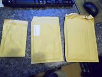 500 approx mailing envelopes 'jiffy' bags