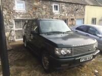 Range Rover p38 spare or repair