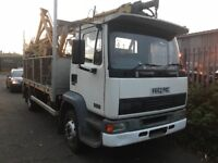 DAF MAN pole erection truck crane lorry