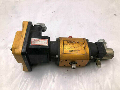 Worcester Controls 10 39s Spring Return Pneumatic Actuator W Switch 120psi