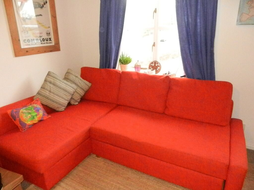 Ikea friheten corner sofa bed with storage in duffield for Ikea corner sofa
