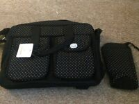 Baby changing bag with bottle insulated bag (brand new)