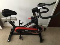Spin Bike Exercise Bike - We R Sports RevXtreme Indoor Cycle - Black & Red | S1000