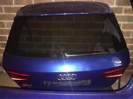 Audi s3 2015 tailgate
