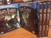 Complete Harry Potter Blu ray