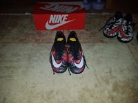 Size 4 Nike Mercurial football boots