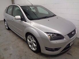 FORD FOCUS ST2 2008/08,ONLY 43000 MILES,YEARS MOT+HISTORY, FINANCE AVAILABLE, WARRANTY, STUNNING CAR