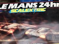 Vintage Le Mans 24hr scalextric