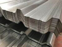 Box profile roof sheets galvanised