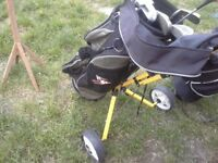 Dunlop Junior golf bag and Trolley