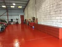 Very busy running car garage business for sale auto repair workshop body paint shop for selling