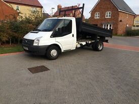 Ford transit tipper 2013 NO V.A.T