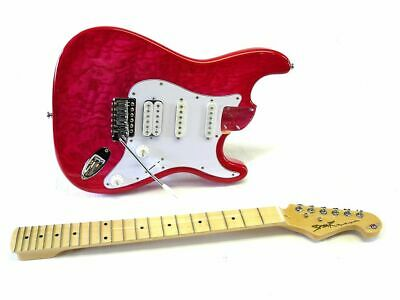 E-Gitarren-Bausatz Spear® RF-150 Transparent Hot Pink gebraucht kaufen  Algenstedt