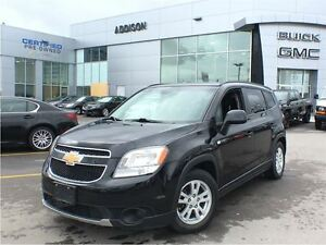 2013 Chevrolet Orlando 1LT One owner, accident free