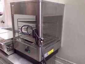 COMMERCIAL HOT PASTRY DISPLAY CABINET CATERING MACHINE RESTAURANT SHOP CAFE BAKERY DINER FASTFOOD