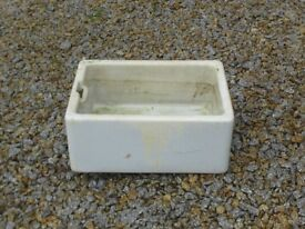 Vintage Belfast Sink Ideal Garden Planter or Garden Sink