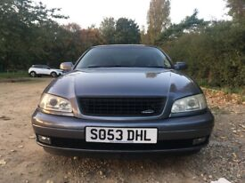 **Vauxhall OMEGA 2003 IRMSCHER 2.2 CD Automatic 94K Alloy Wheels FULL MOT Service History Auto 4door